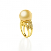 South Sea gold ring