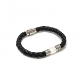 LEATHER BRACELET WITH a cultured pearl