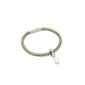 BRACELET WITH WHITE PEARL