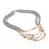 Tropicana freshwater pearl necklace