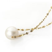 Necklace with a South Sea pearl
