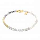 Akoya pearl Melange necklace