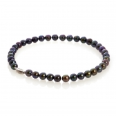 'Bora Bora' black pearl necklace