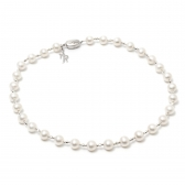 'Wedding' freshwater pearl necklace
