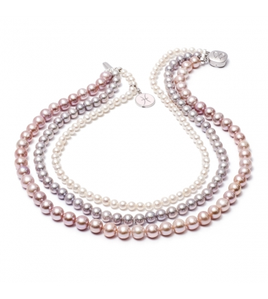 Marittima freshwater pearl necklace