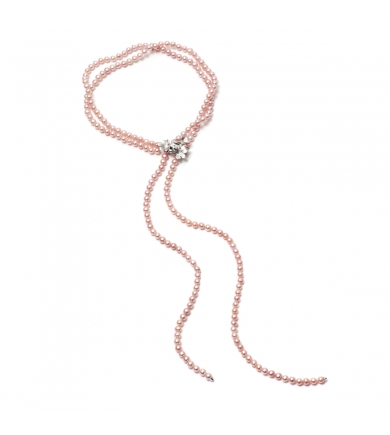 Rowley lavender pearl necklace