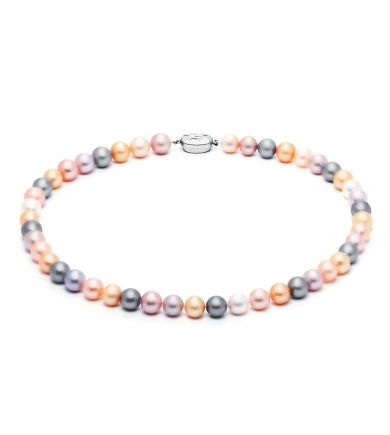 Montpensier mix pearl necklace
