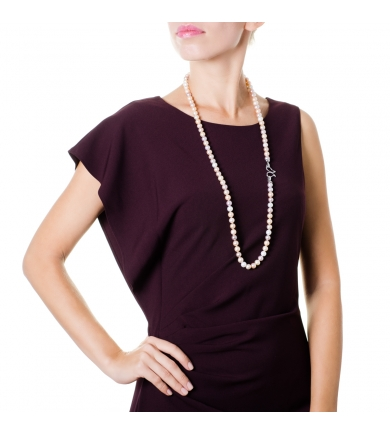 Mix freshwater pearl necklace