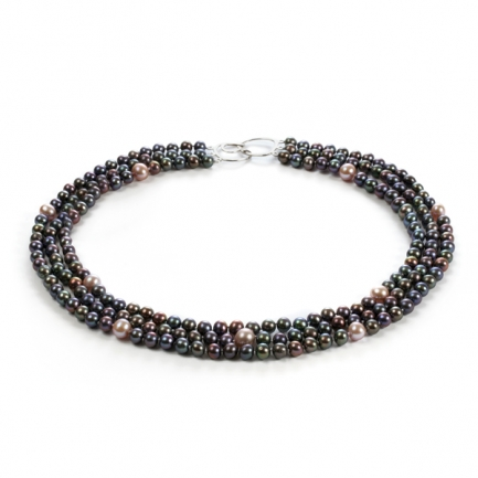'Galaxy' cultured pearl necklace